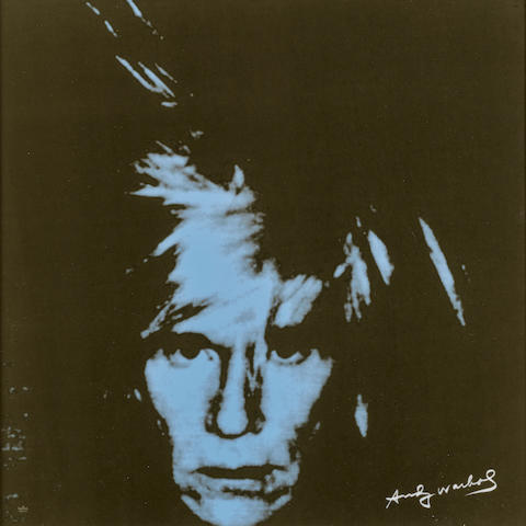 After Andy Warhol (1928-1987); Andy Warhol (Blue);