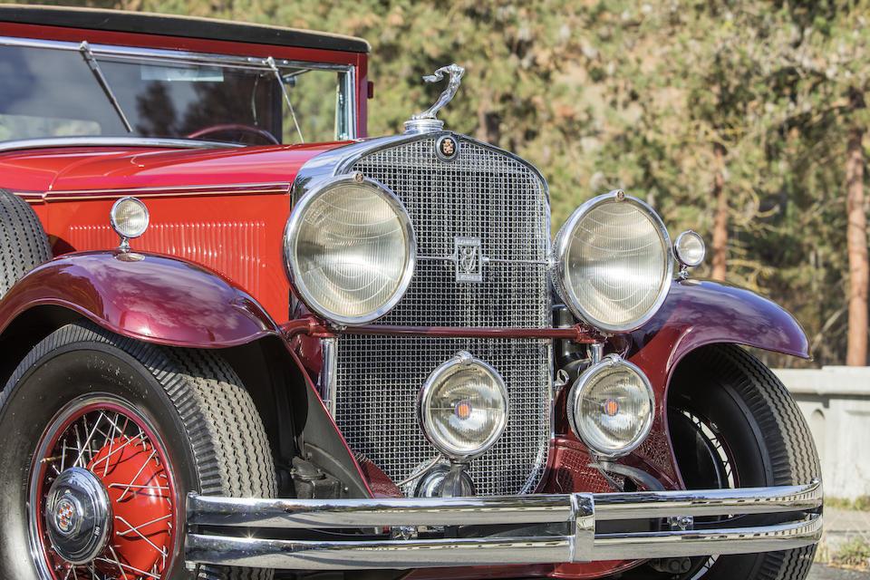 <b>1930 Cadillac Model 353 Convertible Coupe</b><br />Engine no. 505901