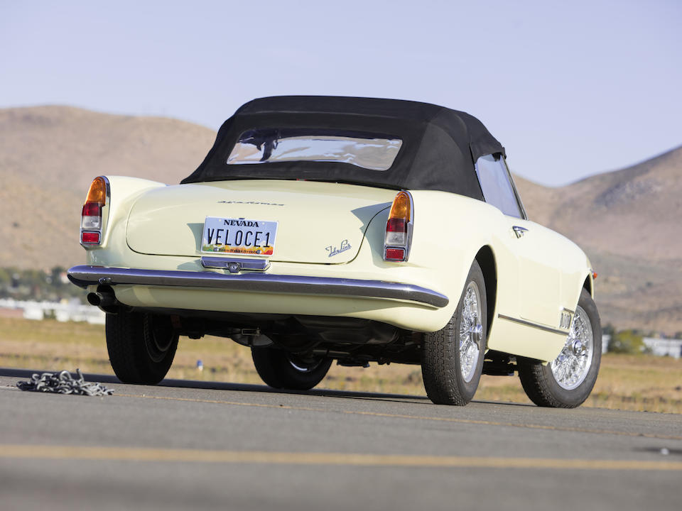<b>1960 Alfa Romeo 2000 Spider</b><br />Chassis no. AR1020401488<br />Engine no. AR0020403132 (see text)