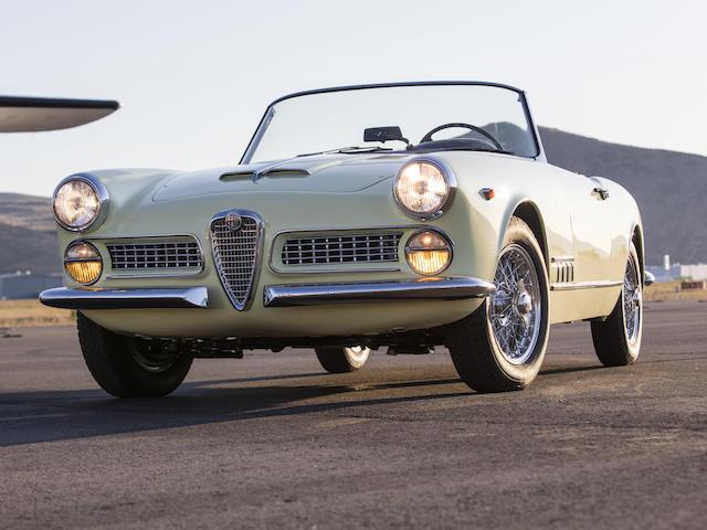 1960 Alfa Romeo 2000 Spider  Chassis no. 10204 01488