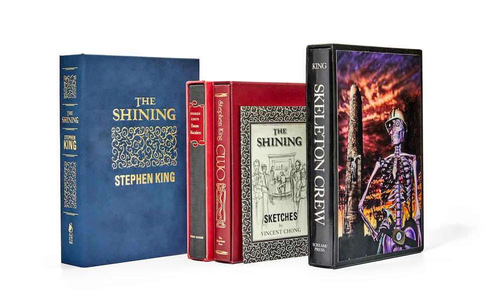 KING, STEPHEN. B.1947. CHONG, VINCENT. Illustrator. The Shining.  Burton, MI: Subterranean Press, 2013.