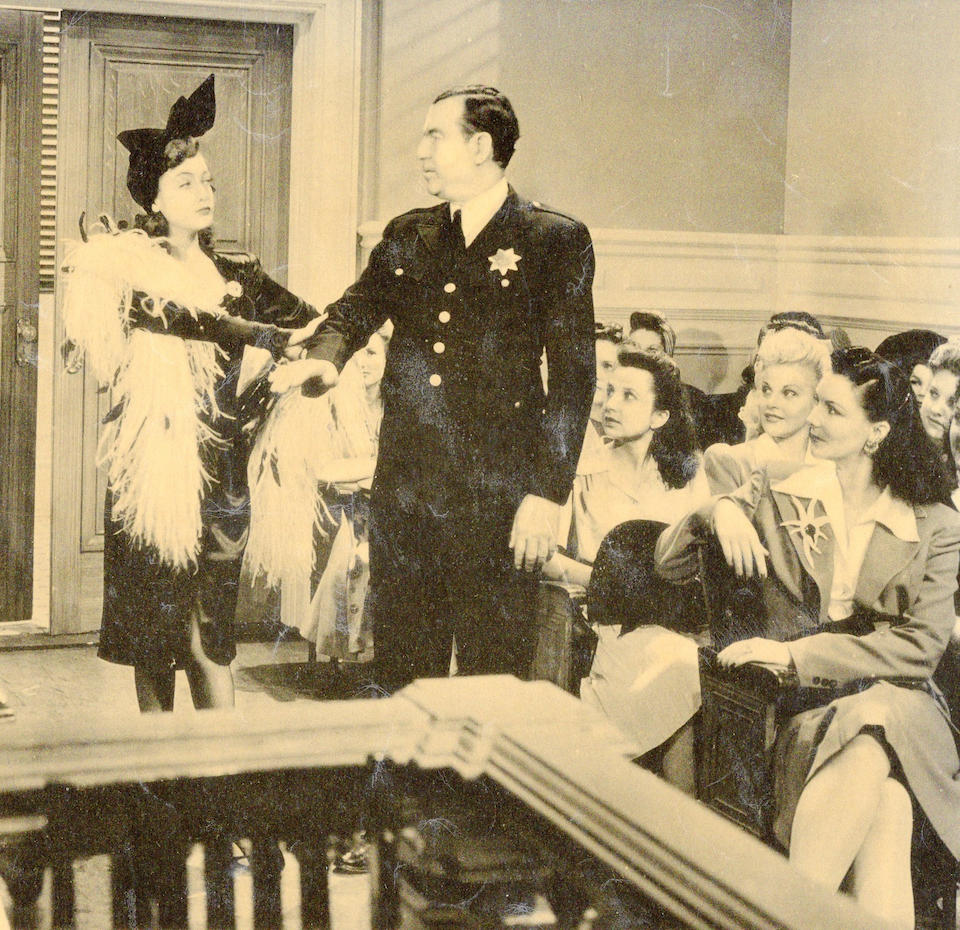 A Dorothy Lamour dress from The Fleet's In