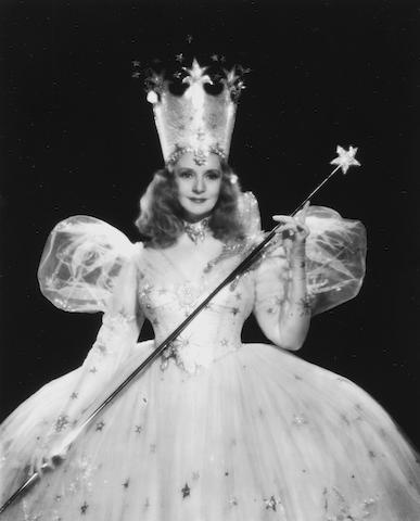 A Glinda the Good Witch test wand from The Wizard of Oz