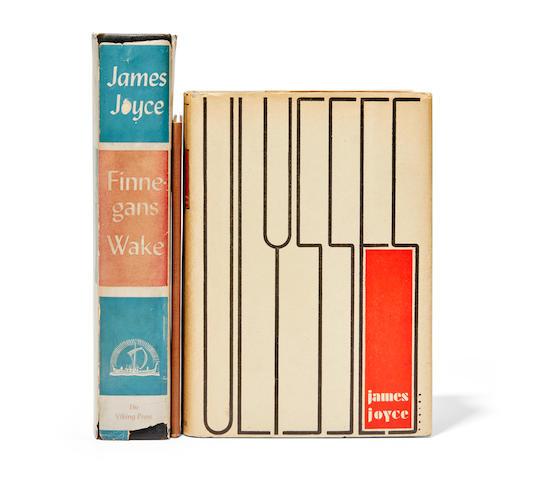 JOYCE, JAMES. 1882-1941. 3 titles: 1. Ulysses. New York: Random House, 1934.