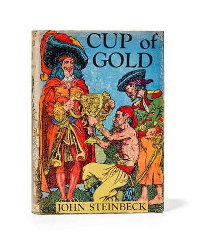 STEINBECK, JOHN. 1902-1968. Cup of Gold. A Life of Henry Morgan, Buccaneer.  New York: Robert M. McBride & Company, 1929.