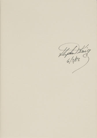 KING, STEPHEN. B.1947. The Plant: the opening segment of an ongoing work. Bangor, ME: Philtrum Press, 1982.