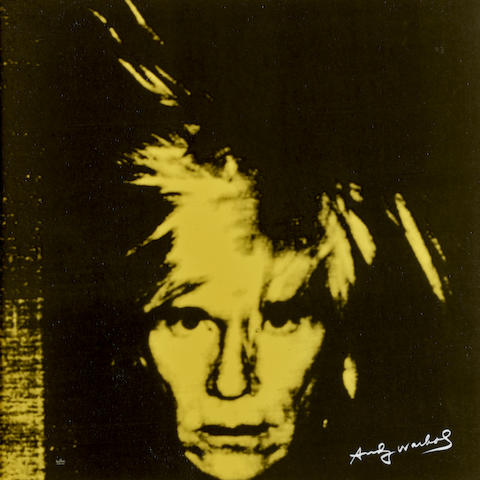After Andy Warhol (1928-1987); Andy Warhol (Yellow);