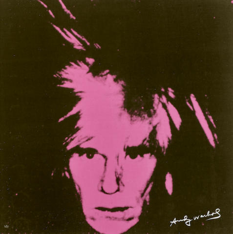 After Andy Warhol (1928-1987); Andy Warhol (Pink);