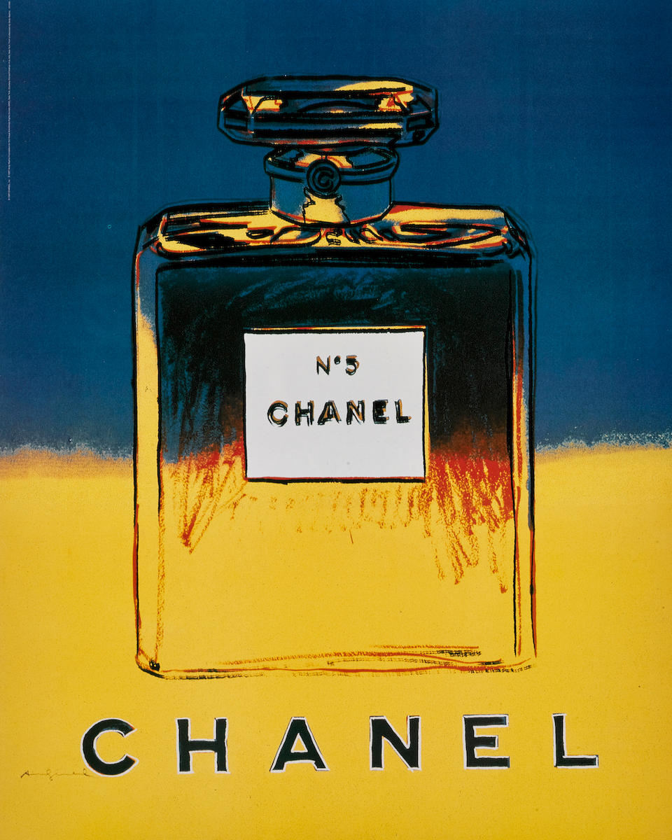 After Andy Warhol (1928-1987); Chanel N˚5 (4 works);