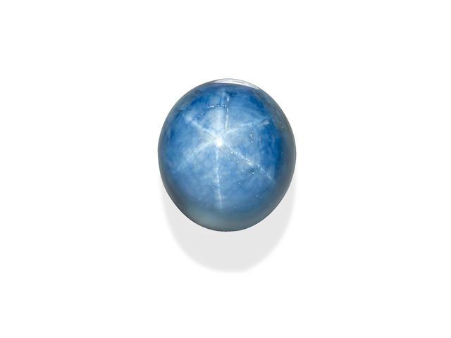 Large Blue Star Sapphire