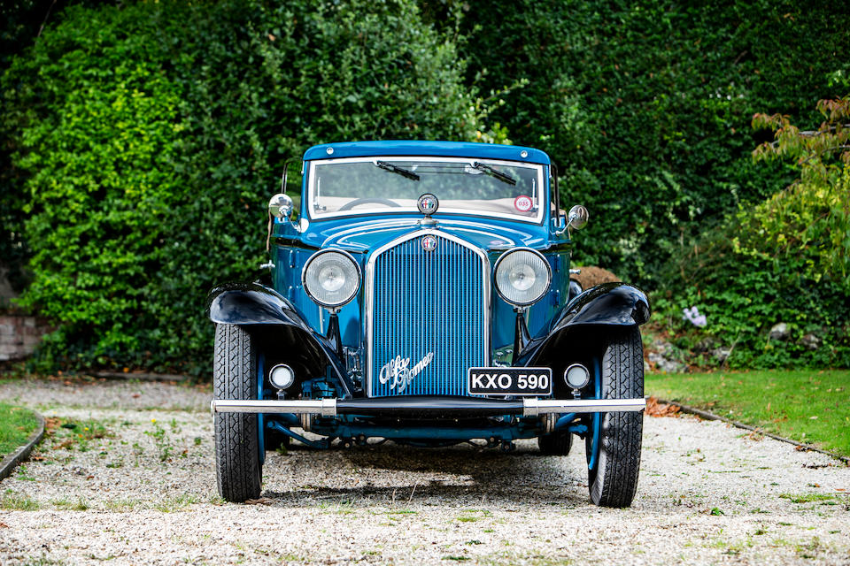 <b>1931 Alfa Romeo 6c 1750 GTC Fifth Series Cabriolet</b><br />Chassis no. 101014832<br />Engine no. 101014832