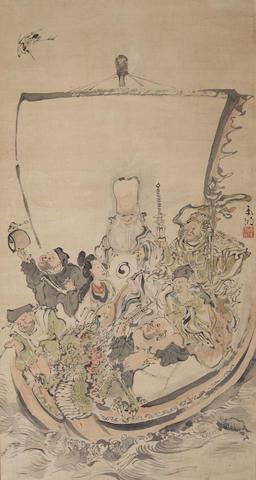 Unidentified Artist (Edo period/Meiji era) Seven Lucky Gods Meiji era 1868-1912