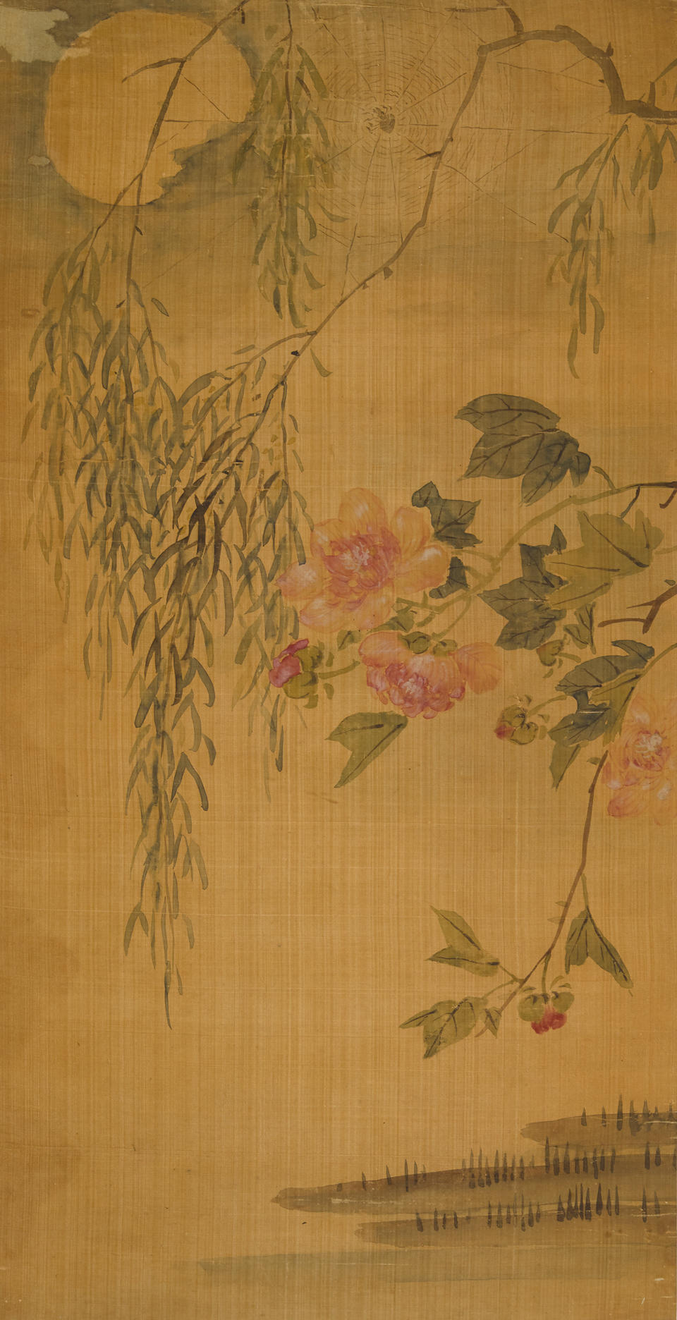 Wang Enlong (Qing dynasty) and Anonymous  Landscape and Flower  (2)
