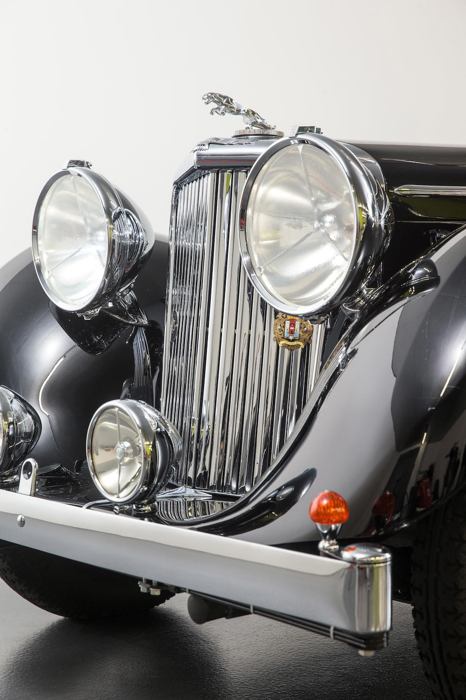 <b>1948 Jaguar Mark IV 3&#189;-Liter Drophead Coupe</b><br />Chassis no. 611056