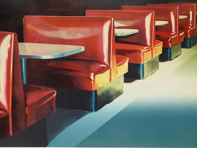 JOHN REGISTER (1936-1996); Red Booths;