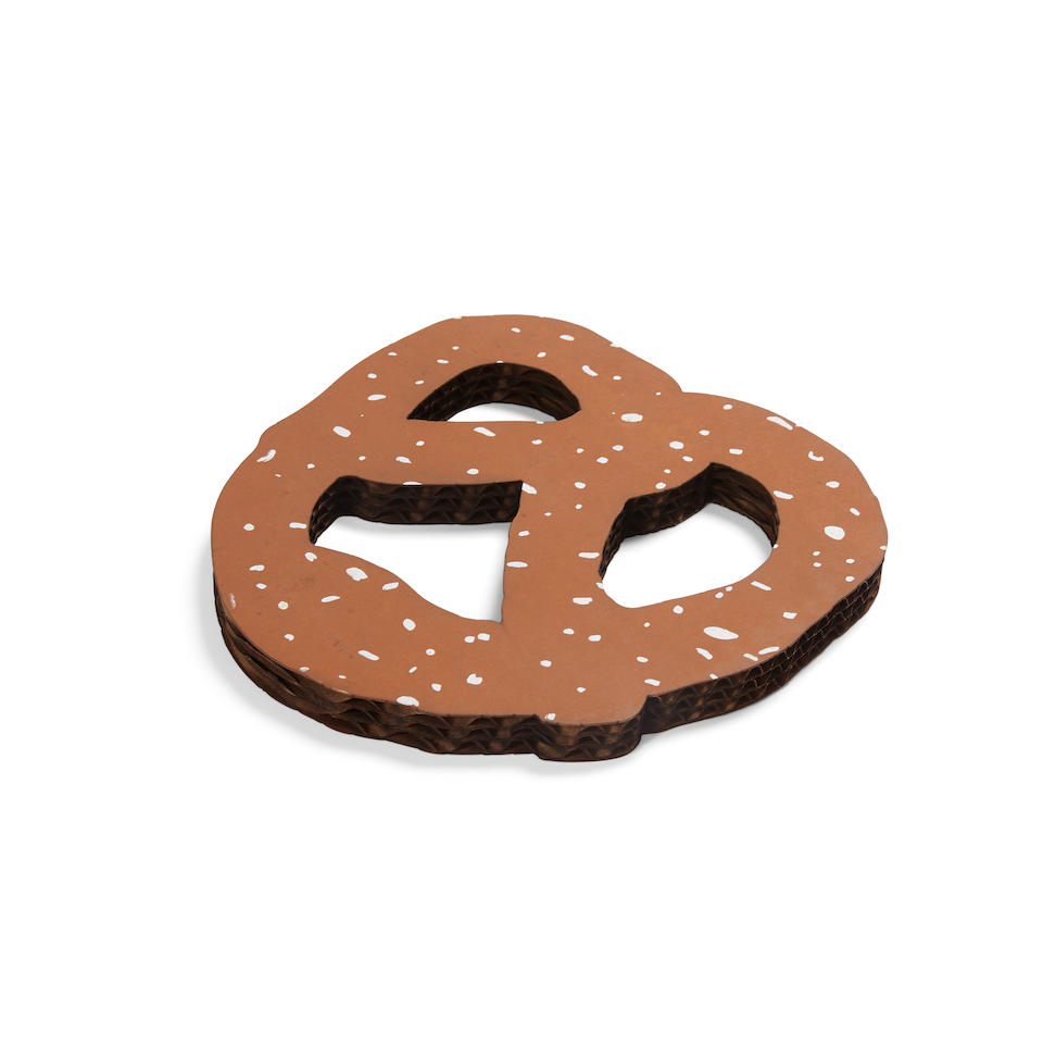 CLAES OLDENBURG (b. 1929) N.Y.C. Pretzel, 1994 (This work is from an unlimited edition, published by I.C. Editions & David Platzker, New York.)