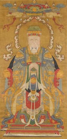 Anonymous (19th century) Portrait of the Jade Emperor