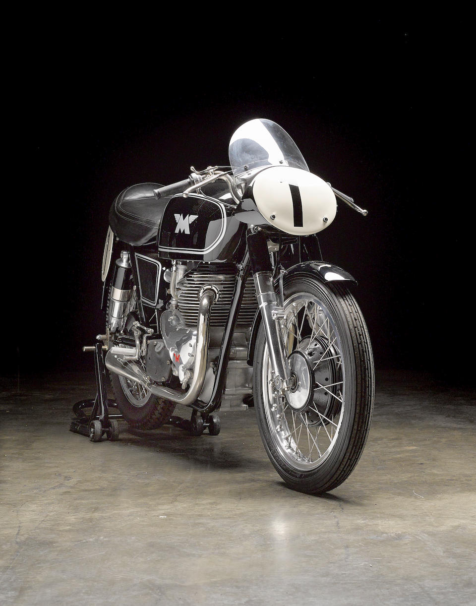 The ex-South African Champion 'Beppe' Castellani, 1955 Matchless 498cc G45 Racing Motorcycle Engine no. G45 138