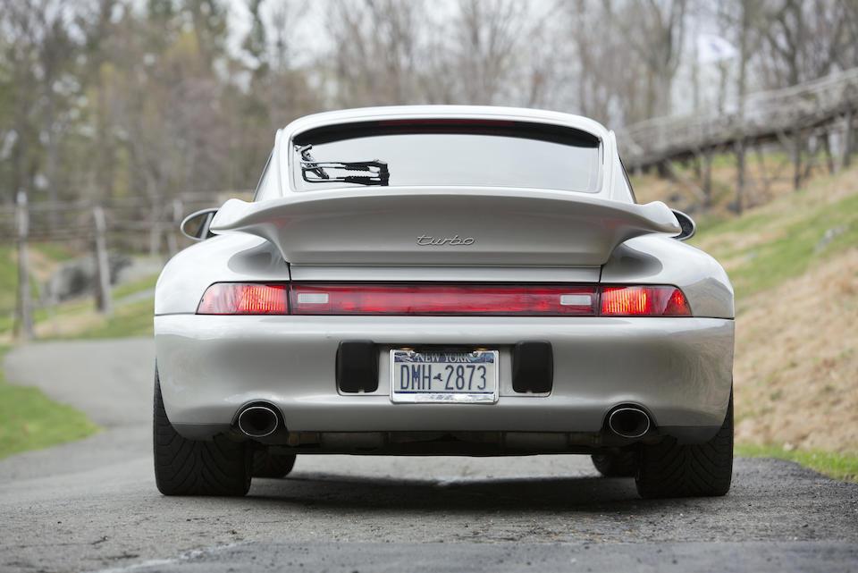 <b>1997 Porsche 993 Turbo</b><br />VIN. WP0AC2993VS375188
