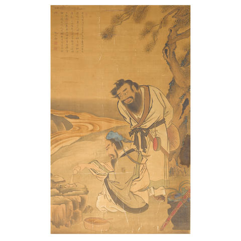 Anonymous (18th/19th century)  Daoist Figures