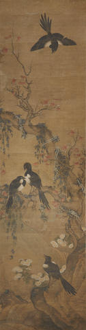 Anonymous (18th century)   Magpies