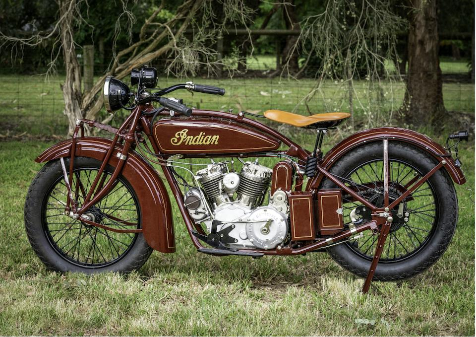 1927 Indian 45ci Indian Police Special Engine no. BGP1127