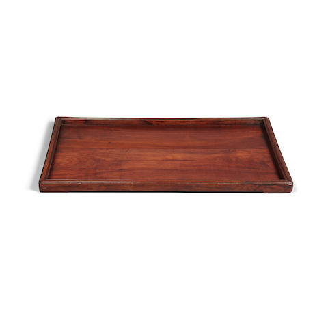 A huanghuali tray