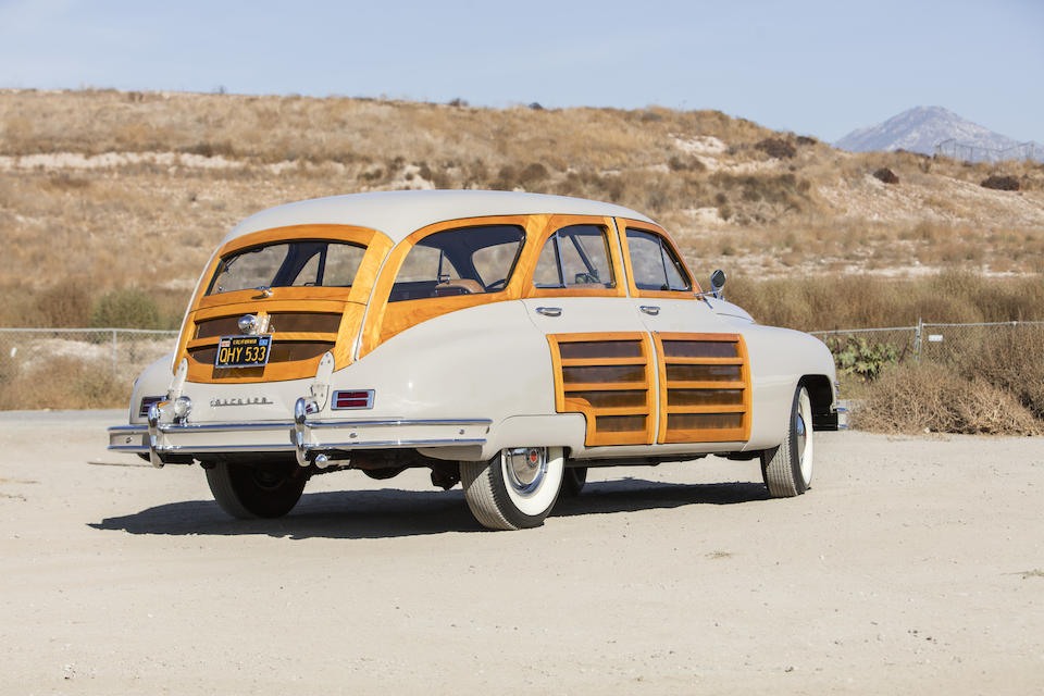 <b>1948 Packard Series 22 Station Sedan</b><br />Chassis no. 22934021