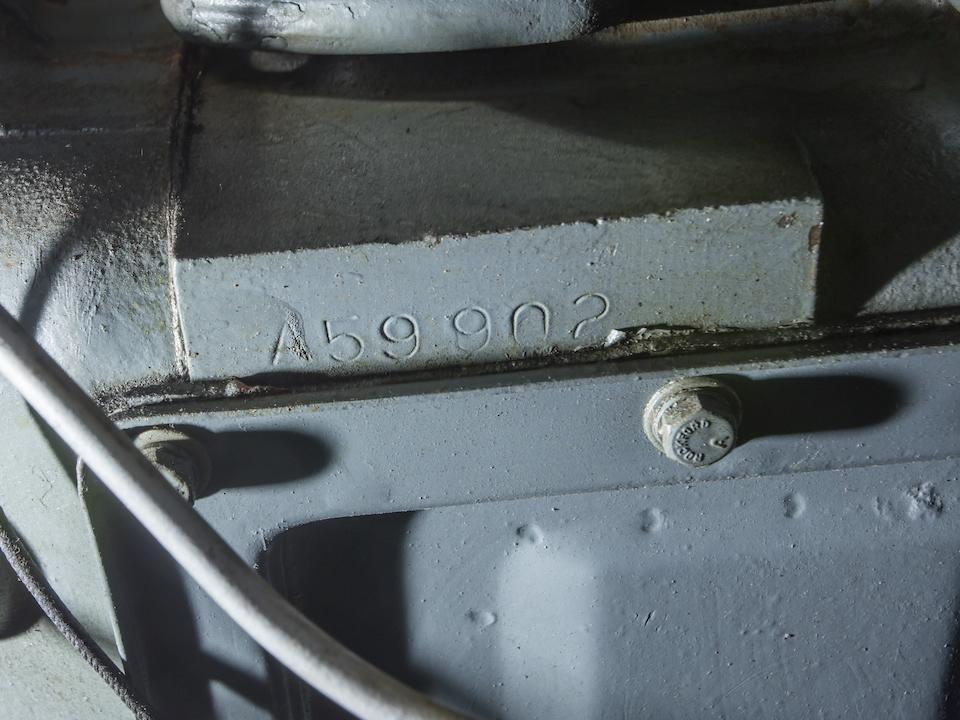 <b>1948 Nash Ambassador Custom Convertible</b><br />Chassis no. 495398<br />Engine no. A59902