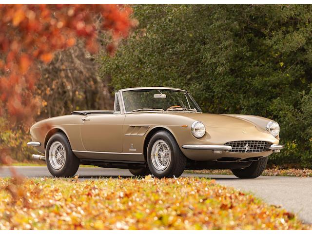 <b>1967 Ferrari 330 GTS </b><br />Chassis no. 9791 <br />Engine no. 9791