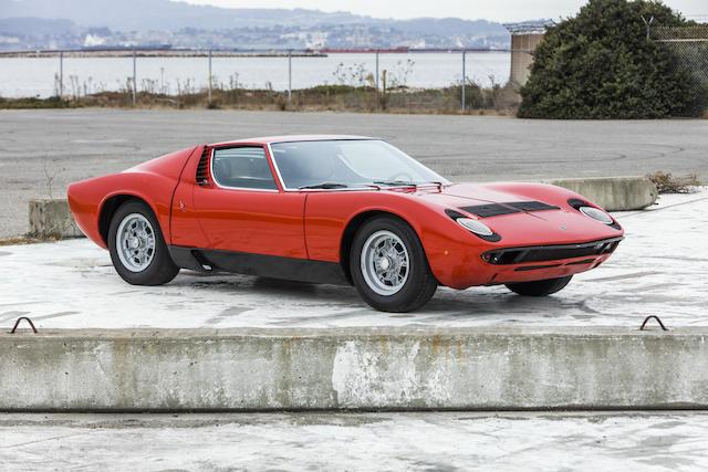 <b>1969 Lamborghini  Miura S</b><br />Chassis no. 4356<br />Engine no. 30440