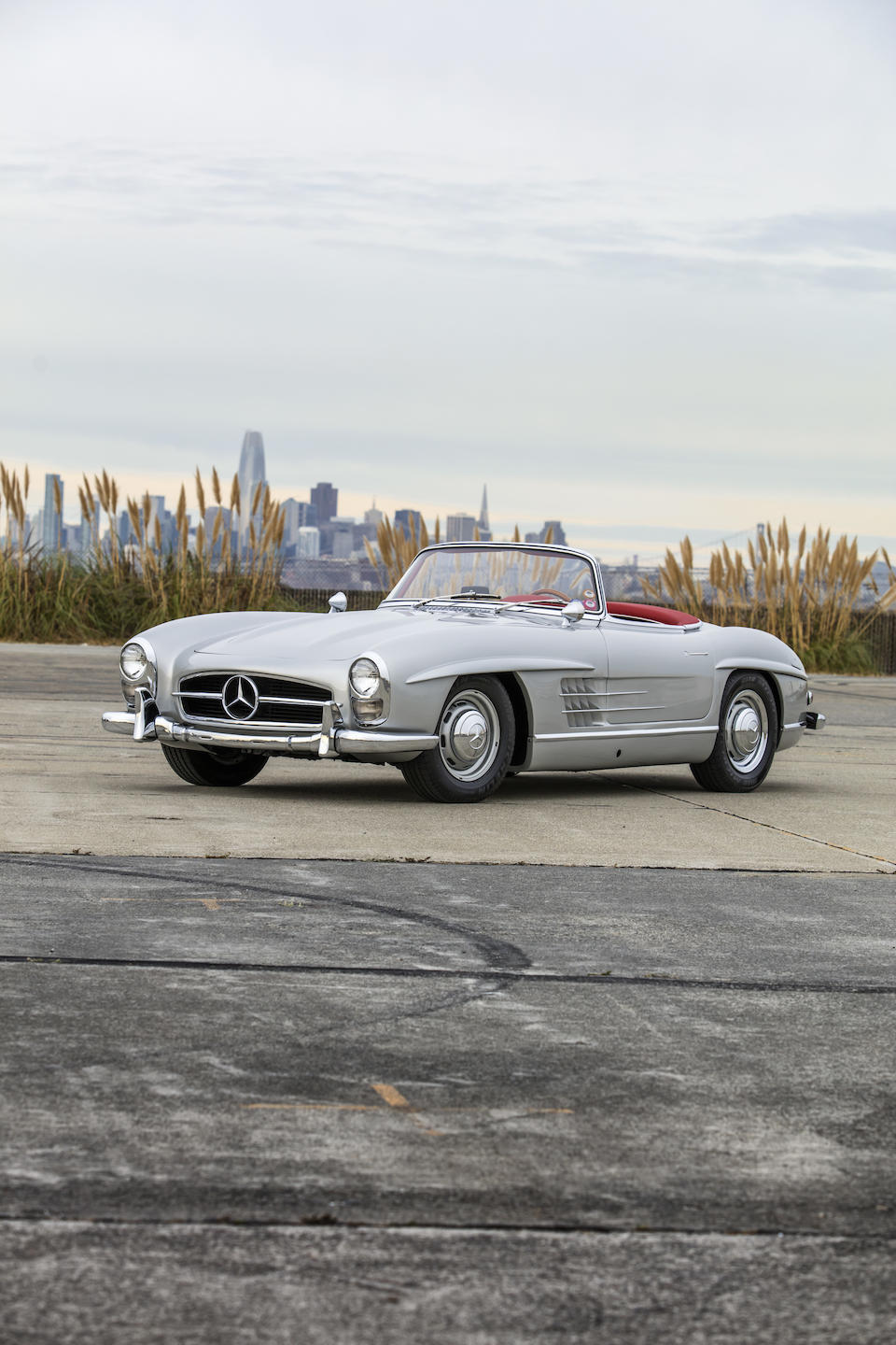 <b>1957 Mercedes-Benz 300SL Roadster</b><br />Chassis no. 198.042.7500532<br />Engine no. 198.980.7500431