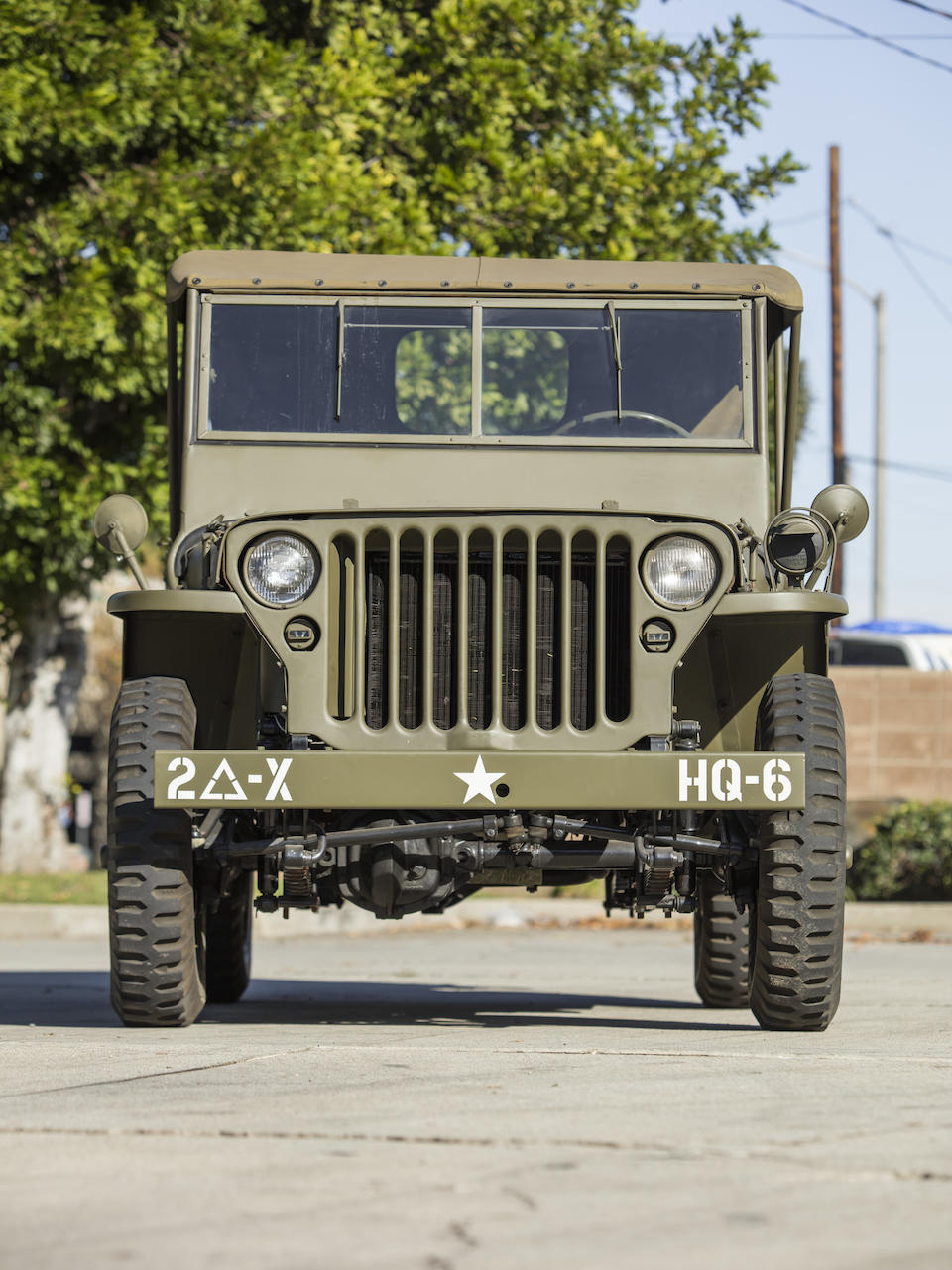 <b>1942 Willys GPW 'Jeep'</b><br />Chassis no. GPW80474