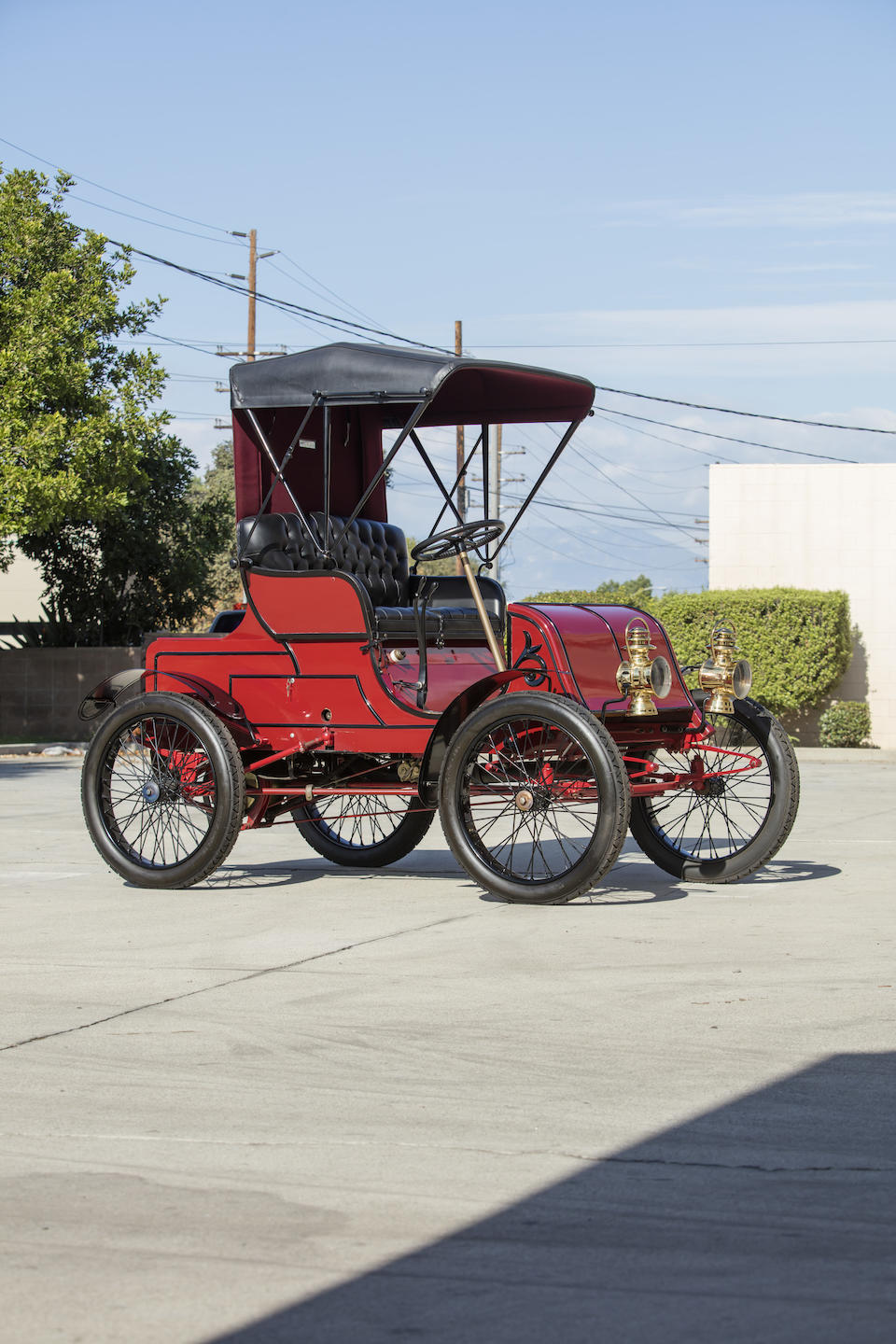 <b>1901 Winton Runabout 8HP</b><br />Engine no. 581