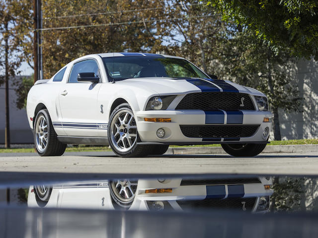 <B>2007 Ford Shelby GT500 Fastback</B><br />VIN. 1ZVHT88SX75346887