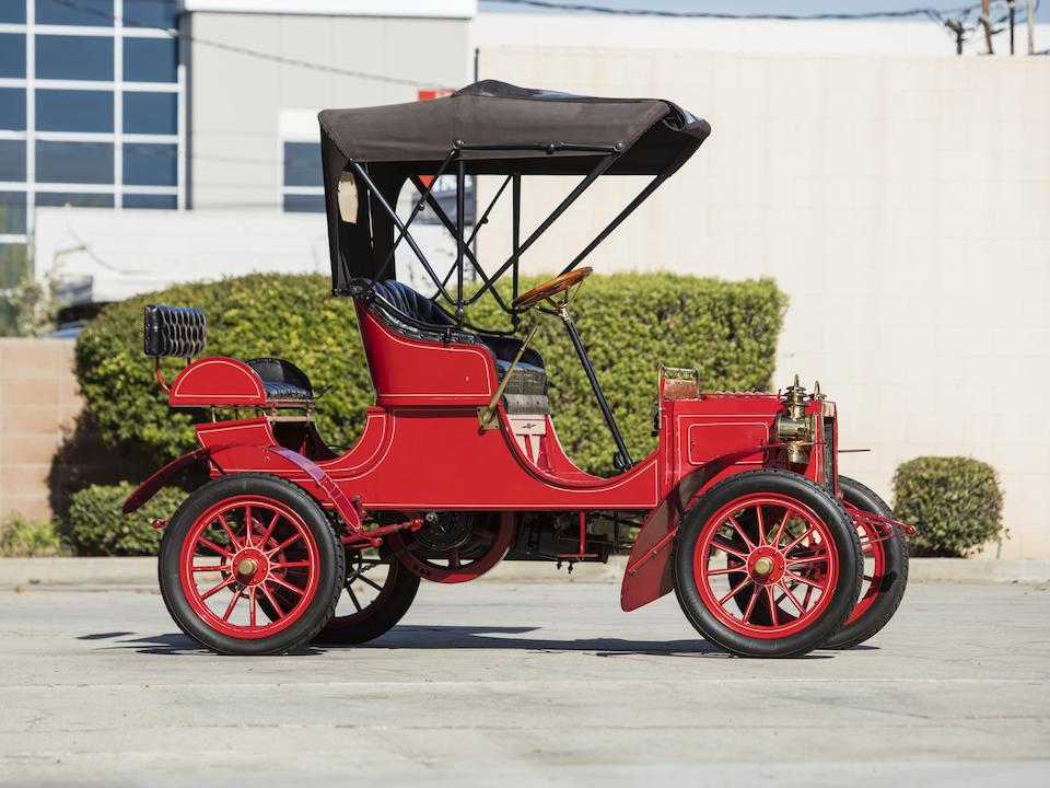 <b>1906 REO Model B 8HP Runabout</b><br />Engine no. SK3488PA