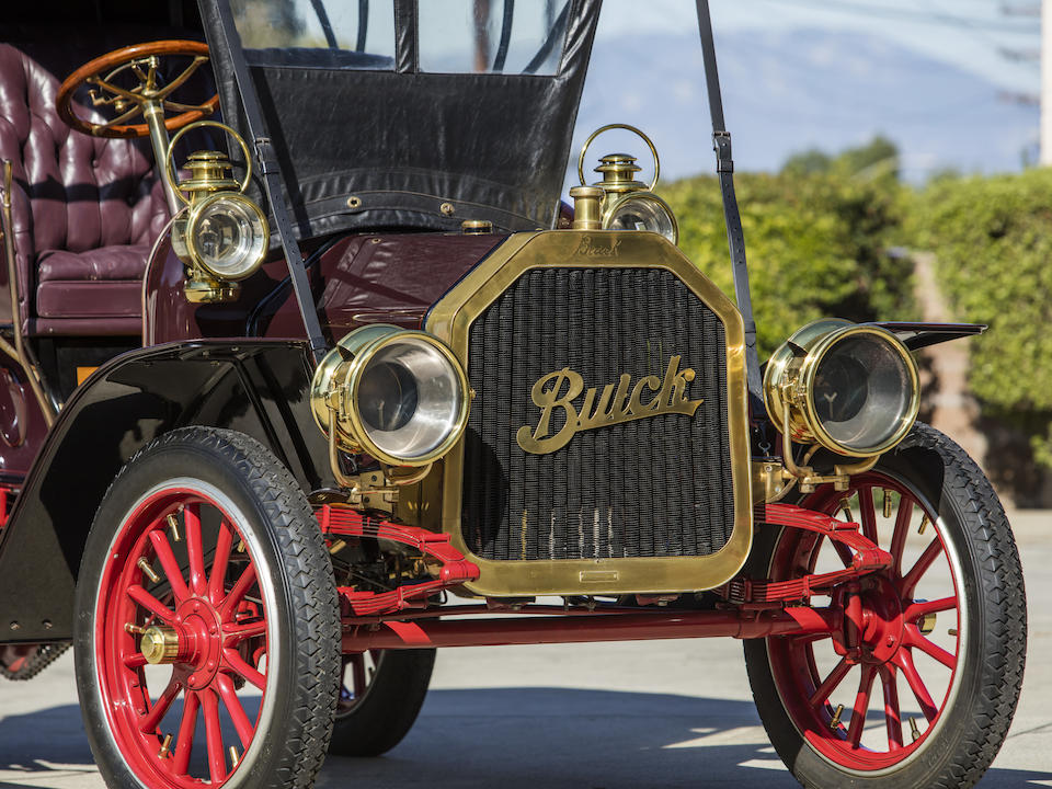 <b>1908 Buick Model F Touring</b><br />Chassis no. 12118