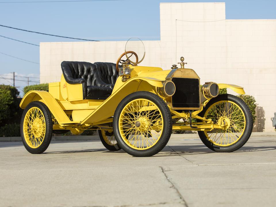 <b>1913 Ford Model T Speedster</b><br />Engine no. 351548