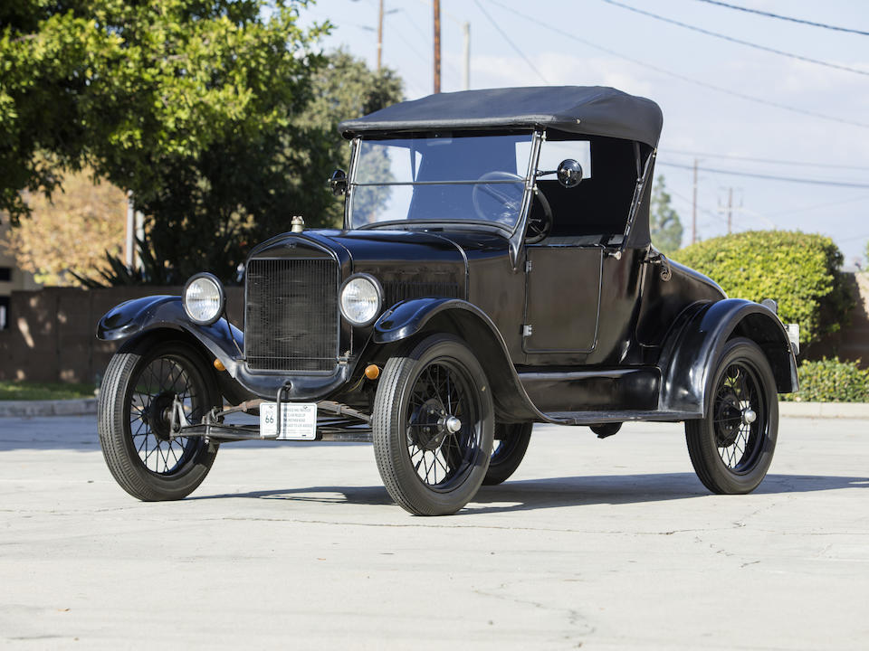<b>1926 Ford Model T Roadster</b><br />Engine no. 13986126