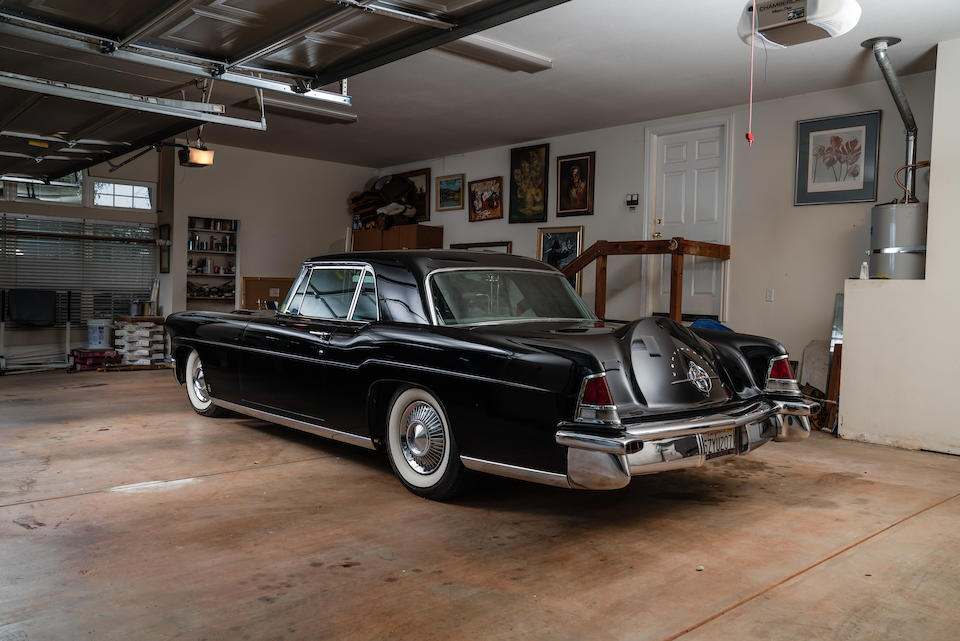 <b>1956 Continental MKII</b><br />Chassis no. C56D2845