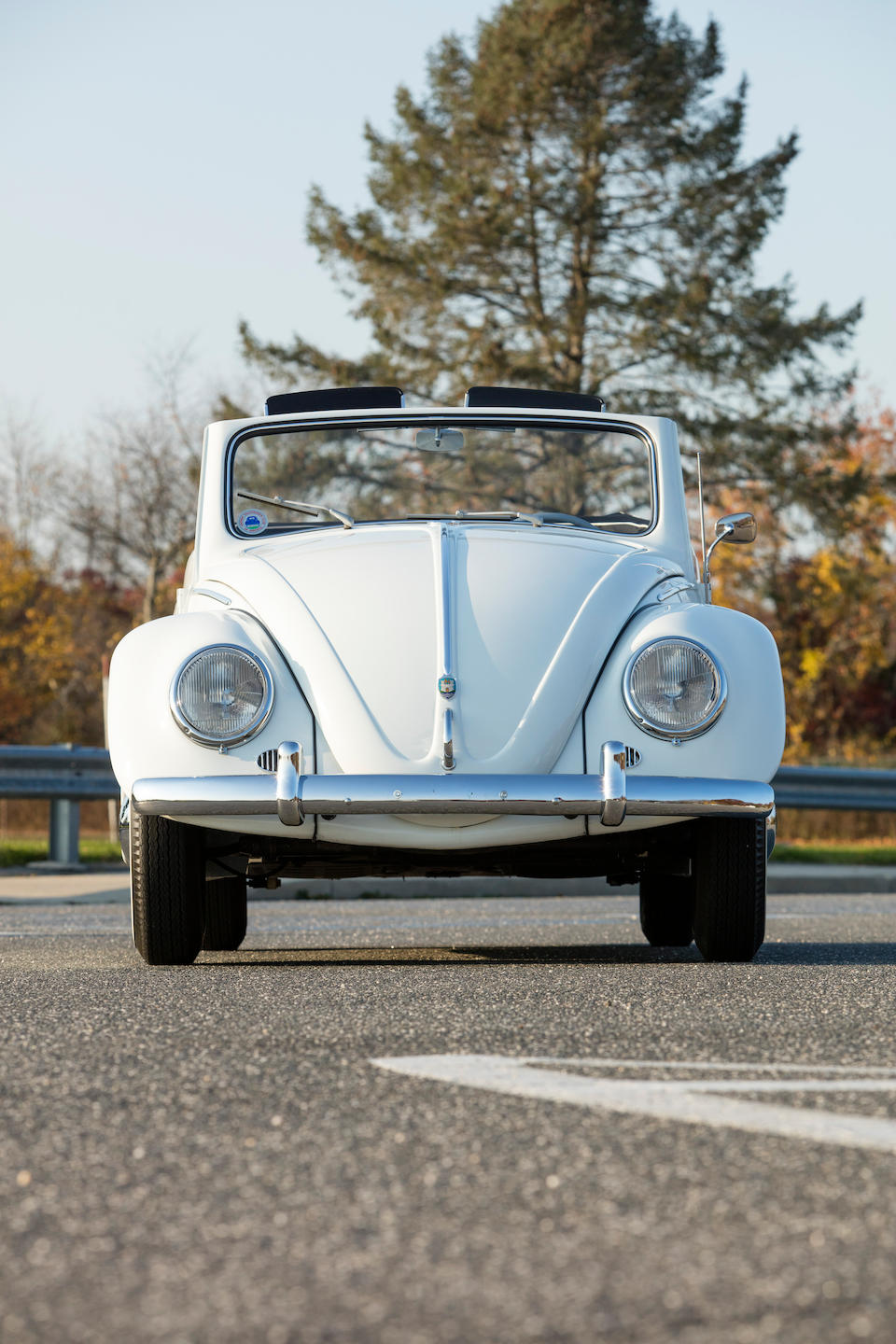 <b>1956 Volkswagen Type 1 Beetle Cabriolet</b><br />Chassis no. 1575247<br />Engine no. 3663424