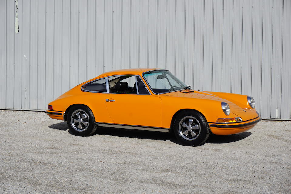 <b>1971 Porsche 911T 2.2 Coupe</b><br />Chassis no. 9111100923 <br />Engine no. 6116107