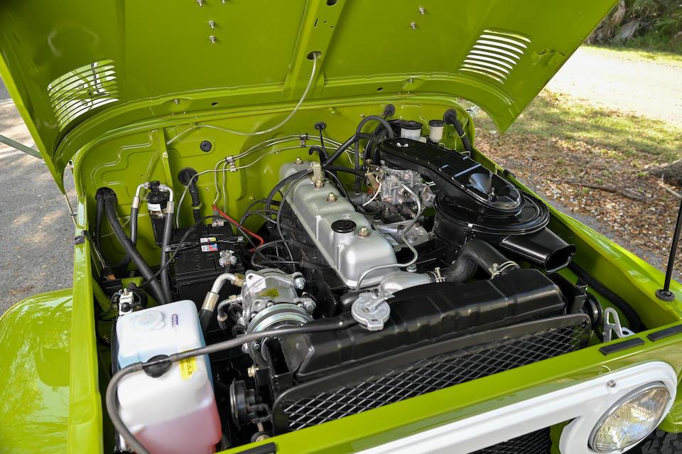 <b>1976 Toyota Land Cruiser FJ 40</b><br />Chassis no. FJ40-903339<br />Engine no. 2F103230