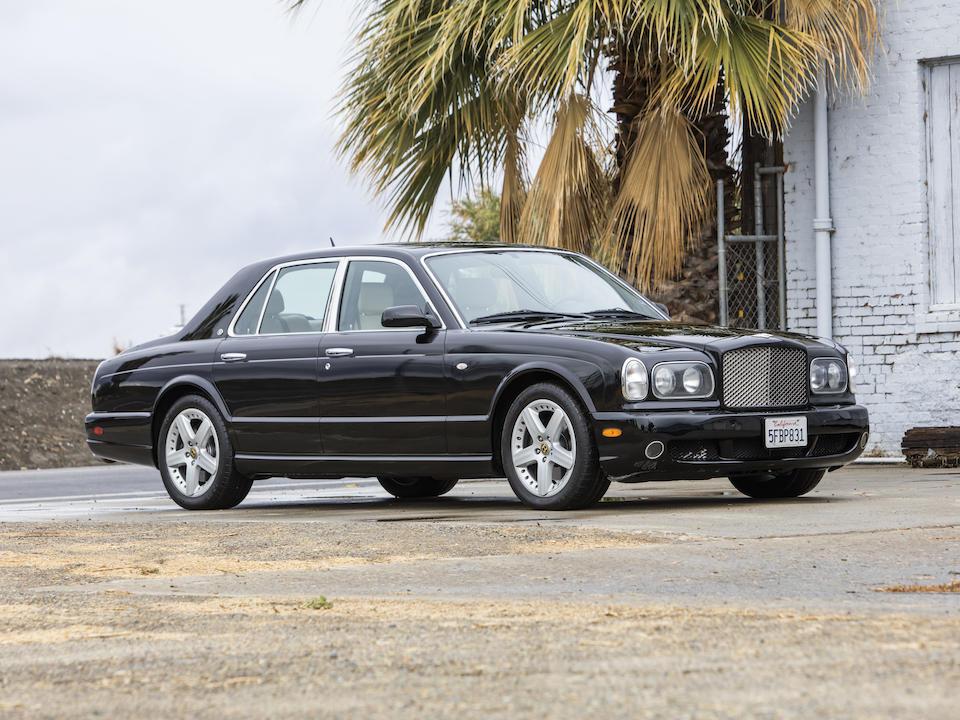 <b>2004 Bentley Arnage T</b><br />VIN. SCBLF34F84CX09889