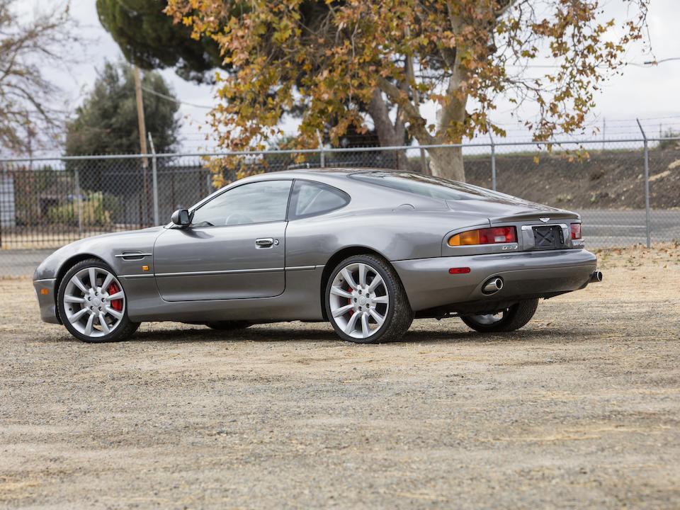 <b>2003 Aston Martin DB7 V12 Vantage Coupe</b><br />VIN. SCFAB22383K303474