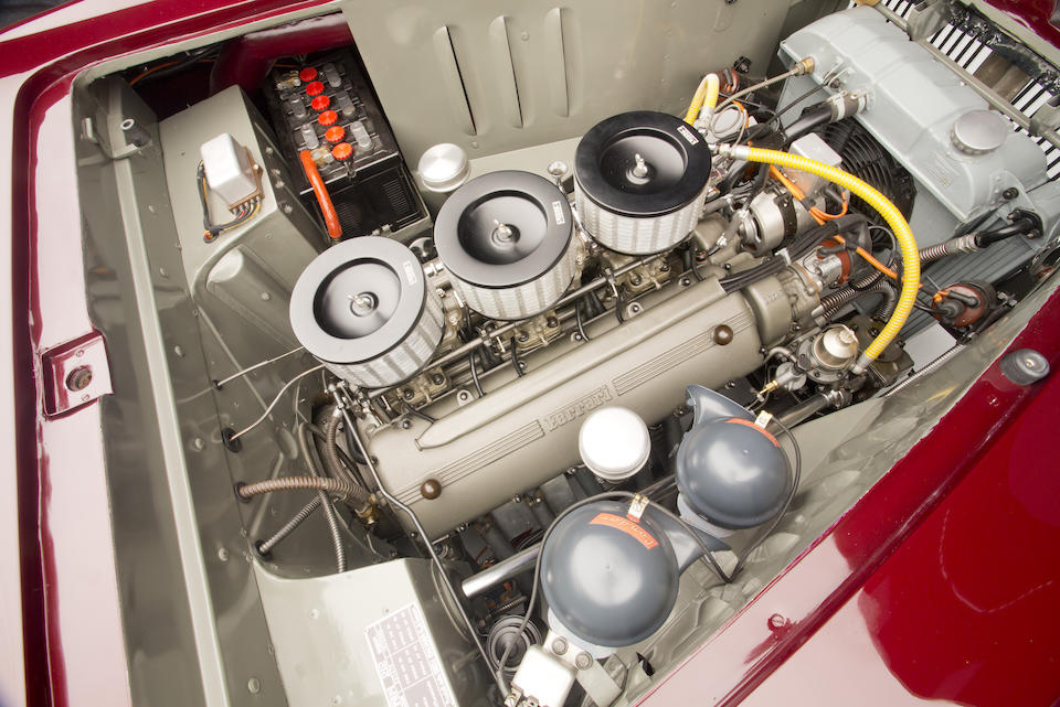 <b>1951 Ferrari 212 Inter Cabriolet</b><br />Chassis no. 0159E <br />Engine no. 0159E