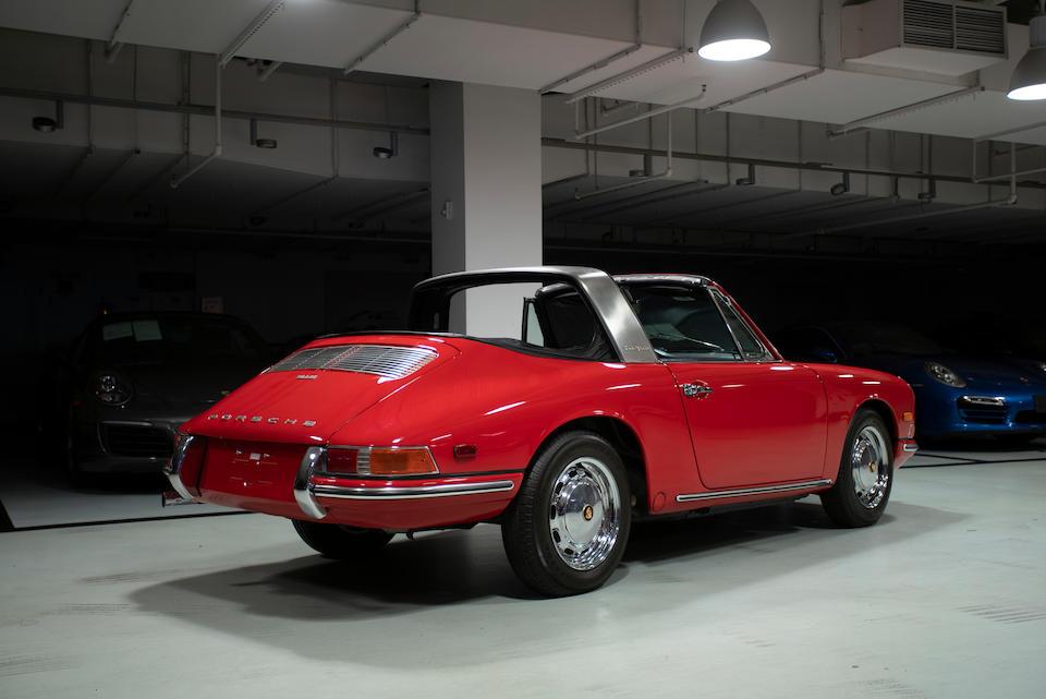 <b>1968 Porsche 912 Targa</b><br />Chassis no. 12870842<br />Engine no. 1280284 (see text)