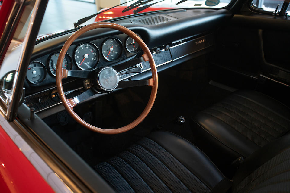 <b>1969 Porsche 911E 2.0 Coupe</b><br />Chassis no. 119200594 <br />Engine no. 6298280 (see text)