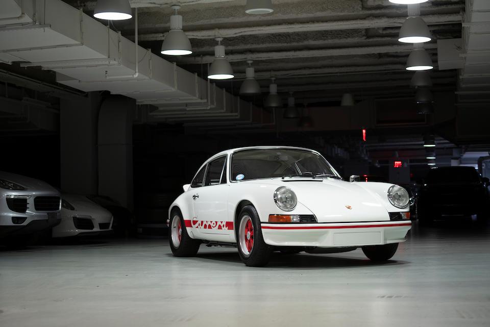 <b>1973 Porsche 911 Carrera RS 2.7</b><br />Chassis no. 9113600595<br />Engine no. 6630607
