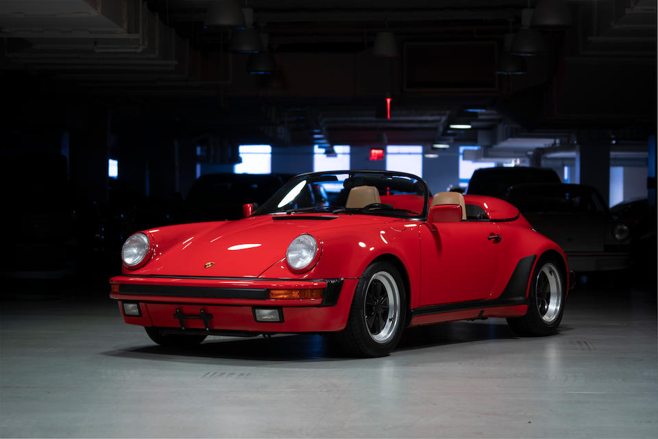 <b>1989 Porsche 911 Carrera Speedster</b><br />VIN. WP0EB0917KS173078  <br />Engine no. 64K05445